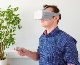 virtual reality vierkant